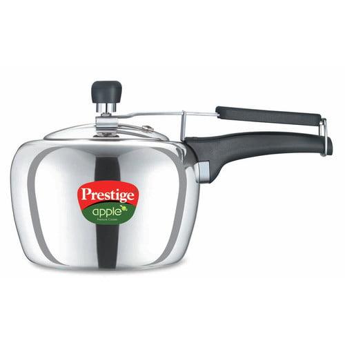 Prestige Cookers Apple Aluminum Pressure Cooker