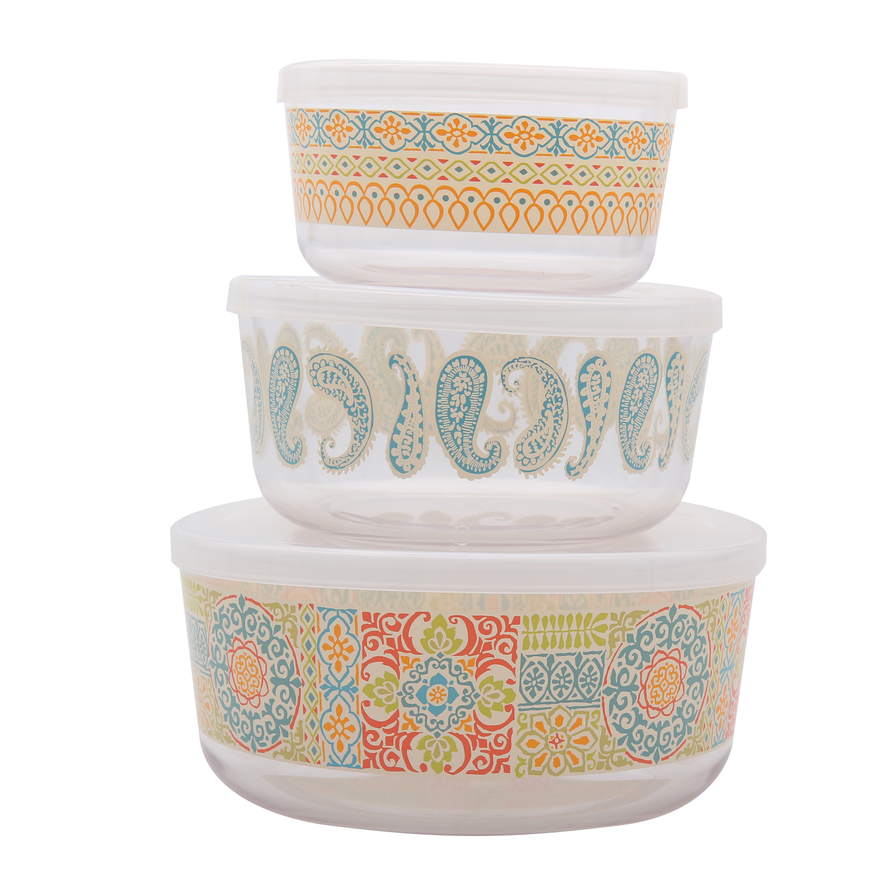 Mainstays Global 3 Piece Bowl Set