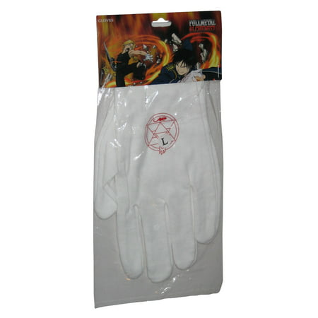 Full Metal Alchemist Roy Mustang Gloves GE-78022 - (Size Large)