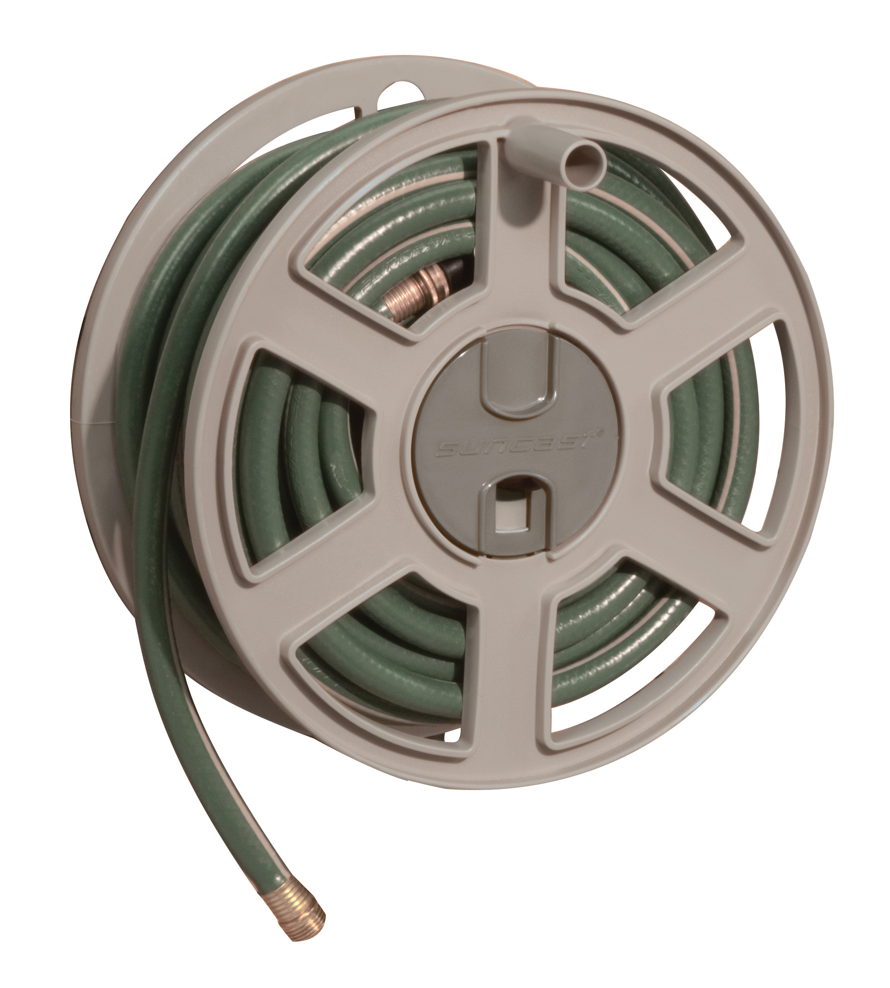 Attirant Product Image Suncast 100u0027 Side Winder Hose Reel