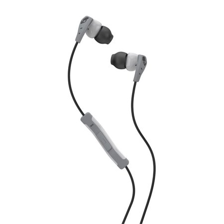 Skullcandy Method In Ear Sweat Resistant Sports Earbud  Lightgray Dark Gray