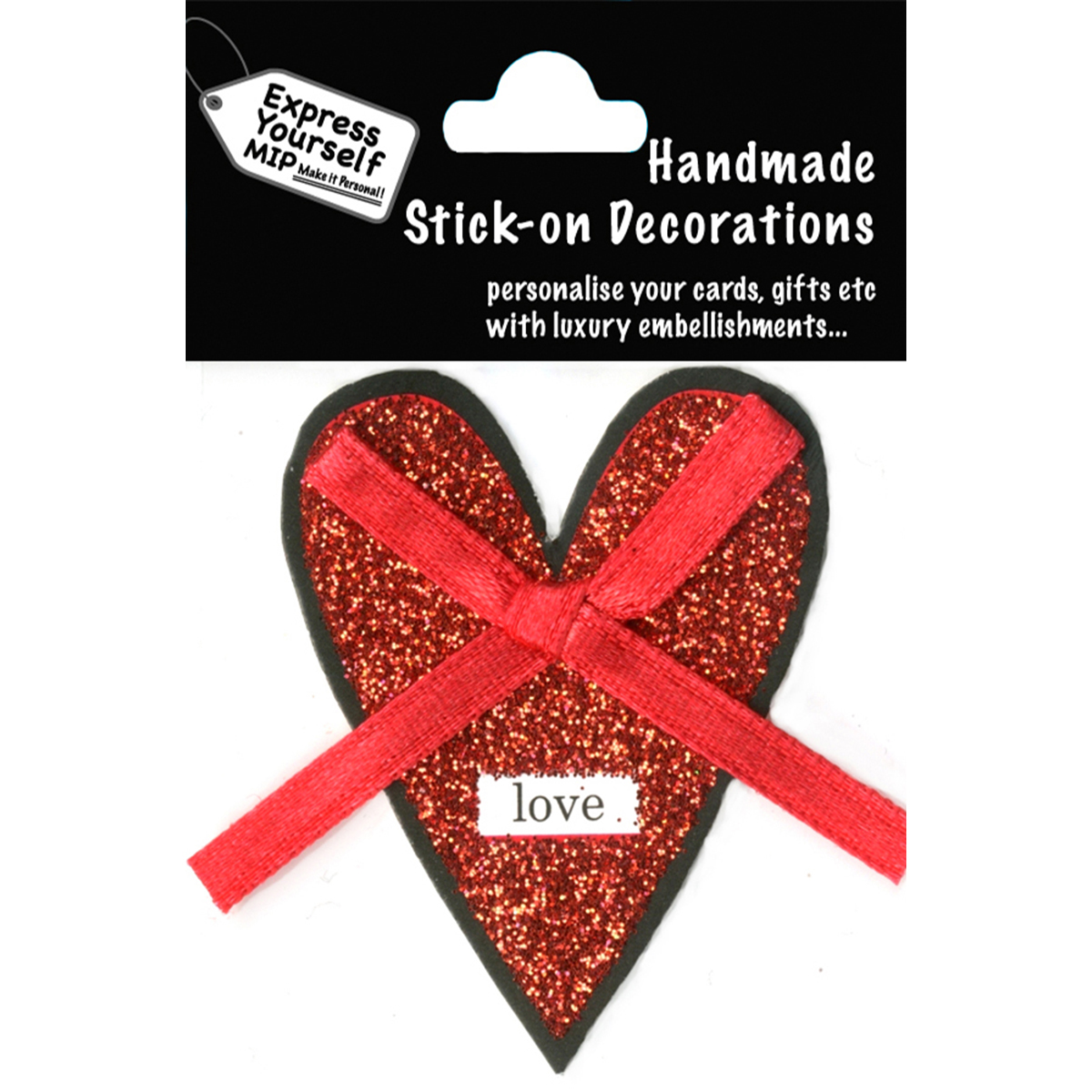 Express Yourself MIP 3D Stickers-Single Heart