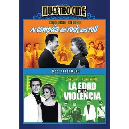 Al Compas Del Rock & Roll / La Edad De La Violencia (DVD) - Peliculas Del Dia De Halloween