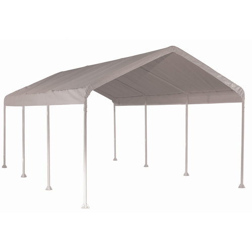 Click here to buy Super Max Canopy, 10'x20', 8-Leg, White Cover by ShelterLogic.