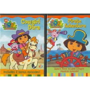 Dora The Explorer: Cowgirl Dora / Pirate Adventure (Full Frame)