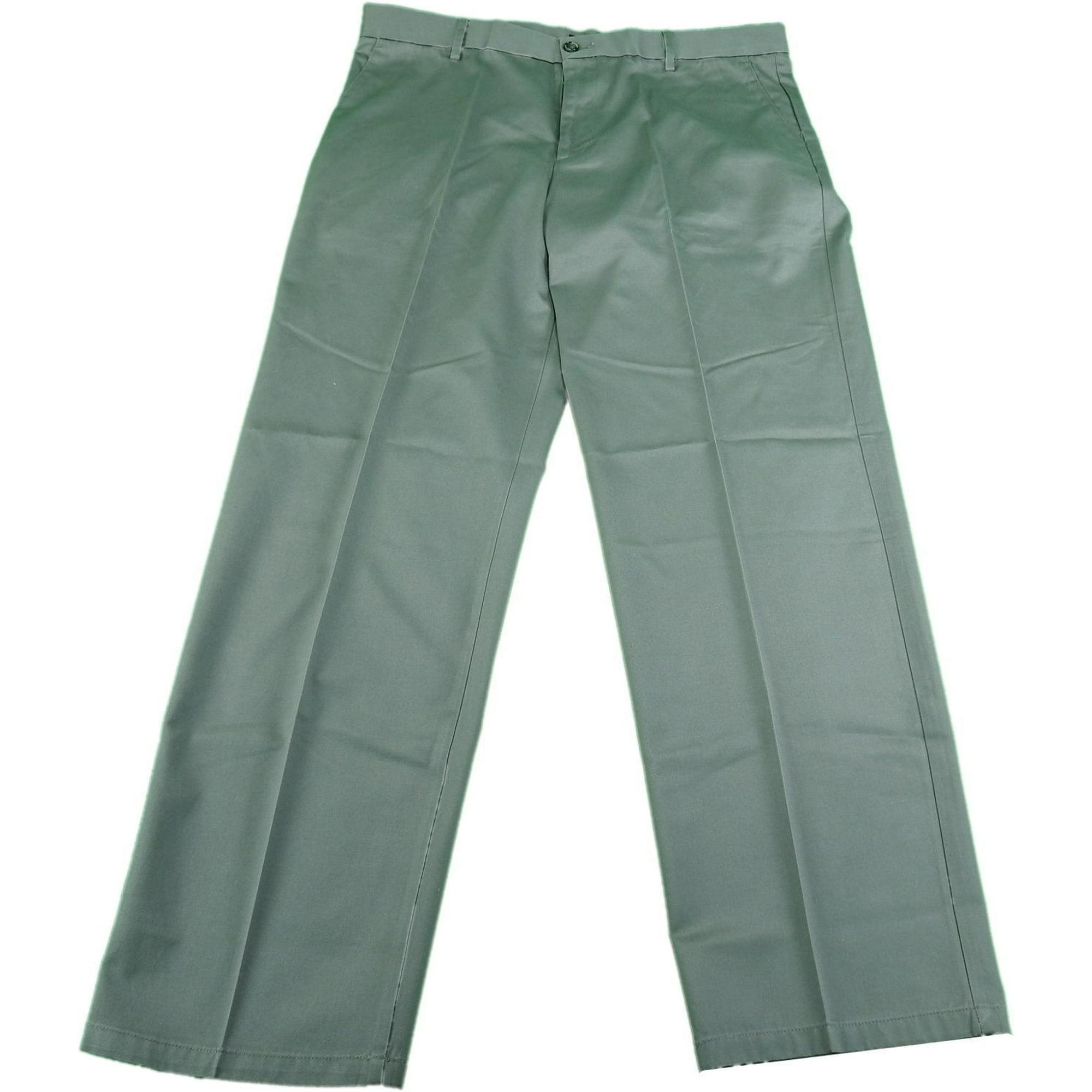 e47ff2338b Dockers Mens Size 38 x 32 Classic Fit Flat-Front The Original Signature  Khaki Pants, Grey