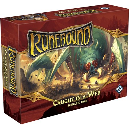Runebound: Caught in a Web Board Game - Web Slinging Games