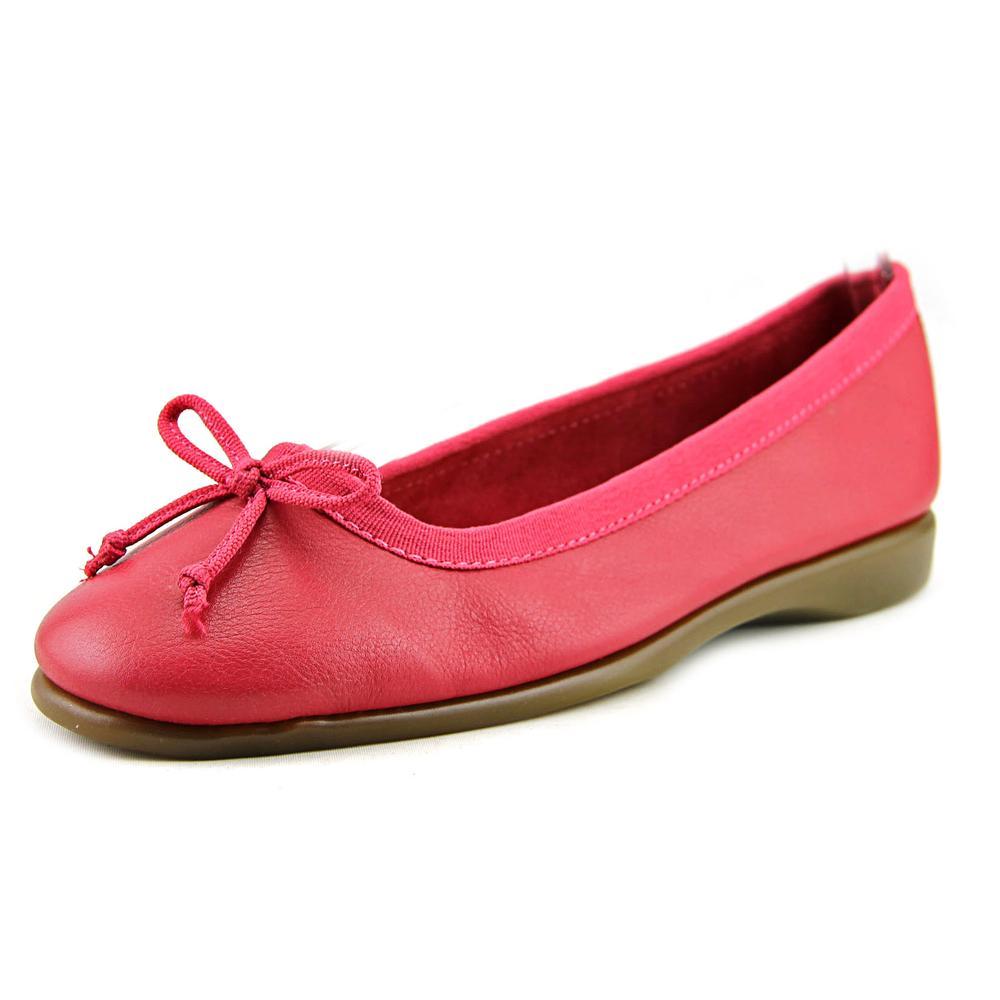 Aerosoles Fashionista Women Round Toe Leather Pink Flats by Aerosoles