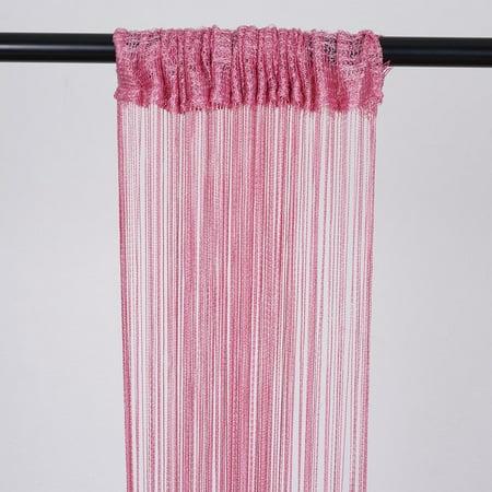 (BalsaCircle 3 feet x 8 feet Silk Tassels Fringe Curtains - Wedding Party Ceremony Photo Booth Background Home Windows)
