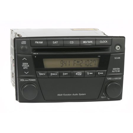 Mazda MPV 2004-2006 Radio AM FM Single Disc CD Player Receiver PN LE47669S0 4165 - (Best Cd Player Receivers)