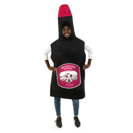 The Best Funny Halloween Costumes (Sweet Red Wine Bottle Costume - Funny Adult Beverage Halloween)