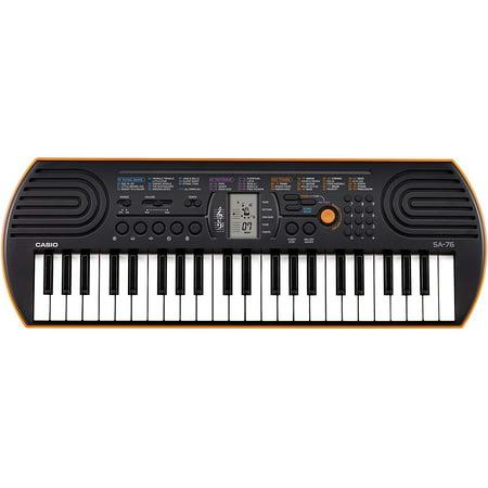 SA-76 44 Key Mini Keyboard, Orange Casio