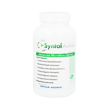 Microflora Balance - Arthur Andrew Syntol Advanced Microflora Delivery 500 Mg Capsules - 180 Ea