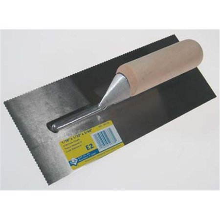 Qep Tile Tools ProSeries Notched Trowel  49738 - image 1 of 1