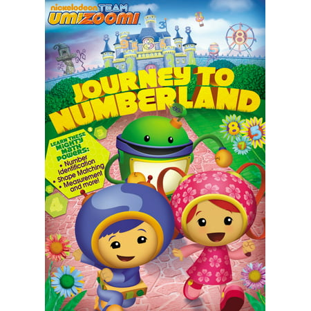 Team Umizoomi: Journey To Numberland (DVD) - Team Umizoomi Full Episode Halloween