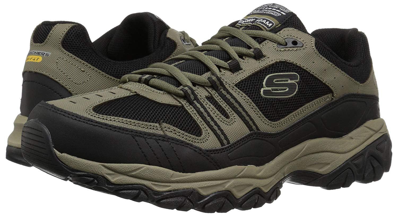 76ffee4cf75c Skechers - 50124 EWW 4E Wide Width Pebble Skechers Shoe Big  amp  Tall Men  Memory Train Sneaker - Walmart.com