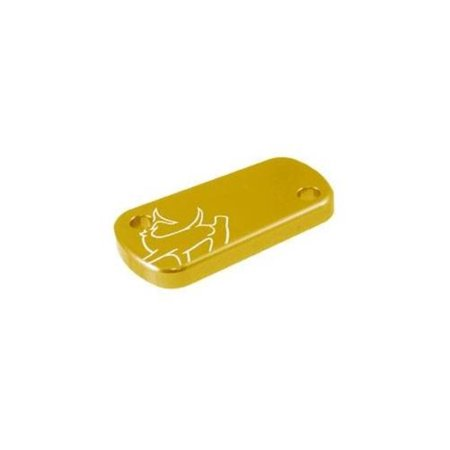Hammerhead Designs 36-0451-00-50 Rear Brake Master Cylinder Cover - Gold