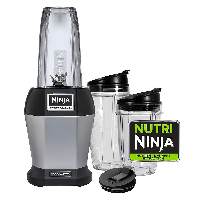 Nutri Ninja Pro Single Serve Blender - Includes 3 Sip & Seal Lids and Cookbook