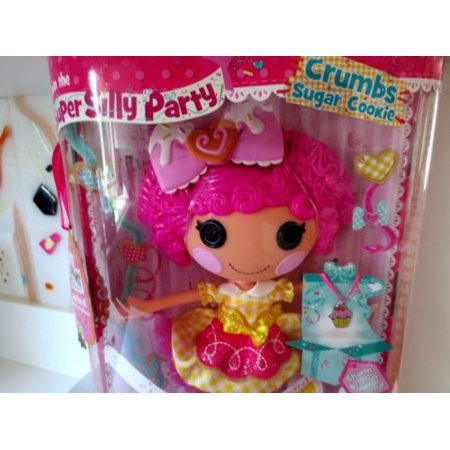 Lalaloopsy Super Silly Party Large Doll - Crumbs Sugar - Sugar Crumbs Lalaloopsy