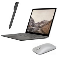 "Microsoft Surface Laptop 13.5"" 2256x1504 Touchscreen, Core i5 Dual-Core up to 3.10 GHz, 8GB RAM, 256GB SSD, Webcam, Intel HD 620, Bluetooth, Win 10 w/ Pen and Mouse - Refurbished - Graphite Gold"