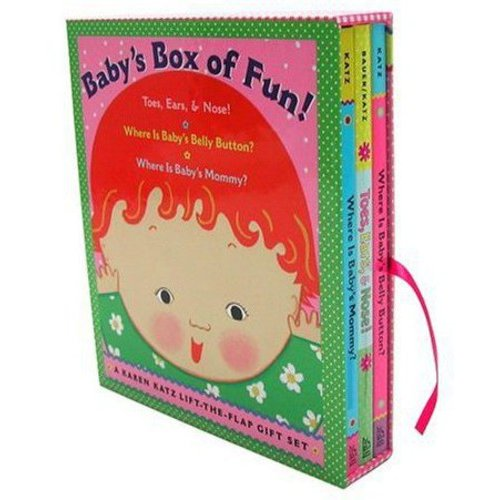 Baby's Box of Fun: Toes, Ears, & Nose!/ Where Is Baby's Belly Button?/ Where Is Baby's Mommy?