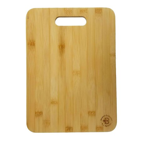 Bamboo Cutting, Chopping and Serving Board Medium 12.5 x 9 Inch Antibacterial