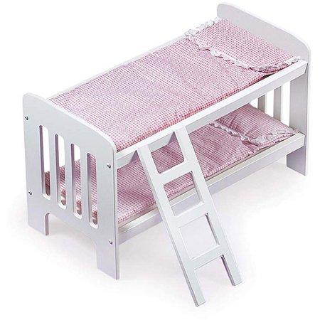 Badger Basket Doll Bunk Beds with Ladder - Fits Most 18