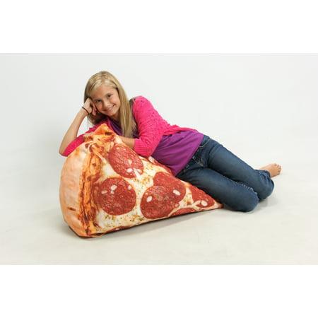 Groovy Pizza Bean Bag Chair Frankydiablos Diy Chair Ideas Frankydiabloscom