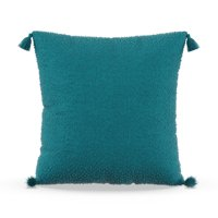 "MoDRN Neo Luxury Corner Tassels Decorative Throw Pillow, 20x20"""