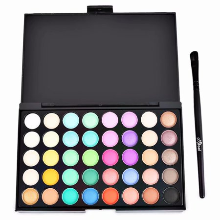 Akoyovwerve 40 Colors Professional Eyeshadow Eye Shadow Palette Makeup Kit Set
