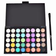 Akoyovwerve 40 Colors Professional Eyeshadow Eye Shadow Palette Makeup Kit Set