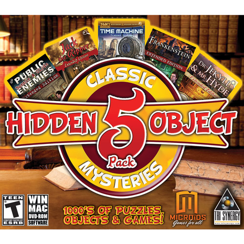 Pc Software Hidden Object Classic Mysteries 5-pack