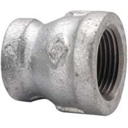 PPG240-10X6 0.37 x 0.12 in. Galvanized Reducing Coupling