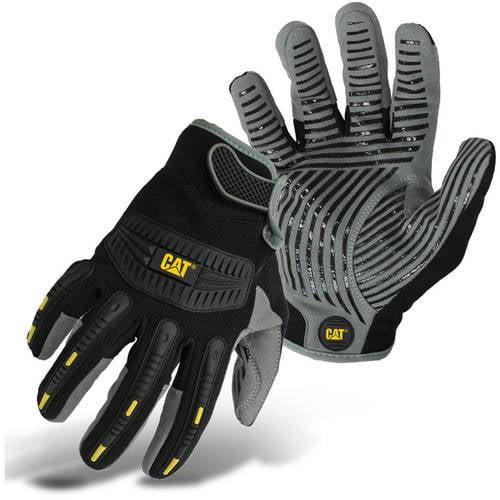 Cat Gloves CAT011218L Large Black High Impact Work Glove