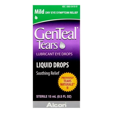 GenTeal Mild Dry Eye Relief Lubricant Eye Drops, 0.5 Fl Oz