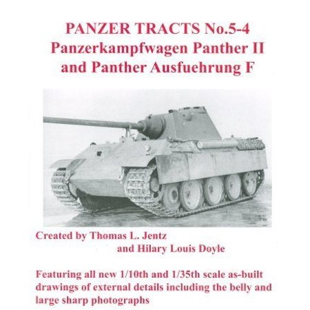 Panzer Tracts No.5-4 PzKpfw Panther II & Panther Ausf F