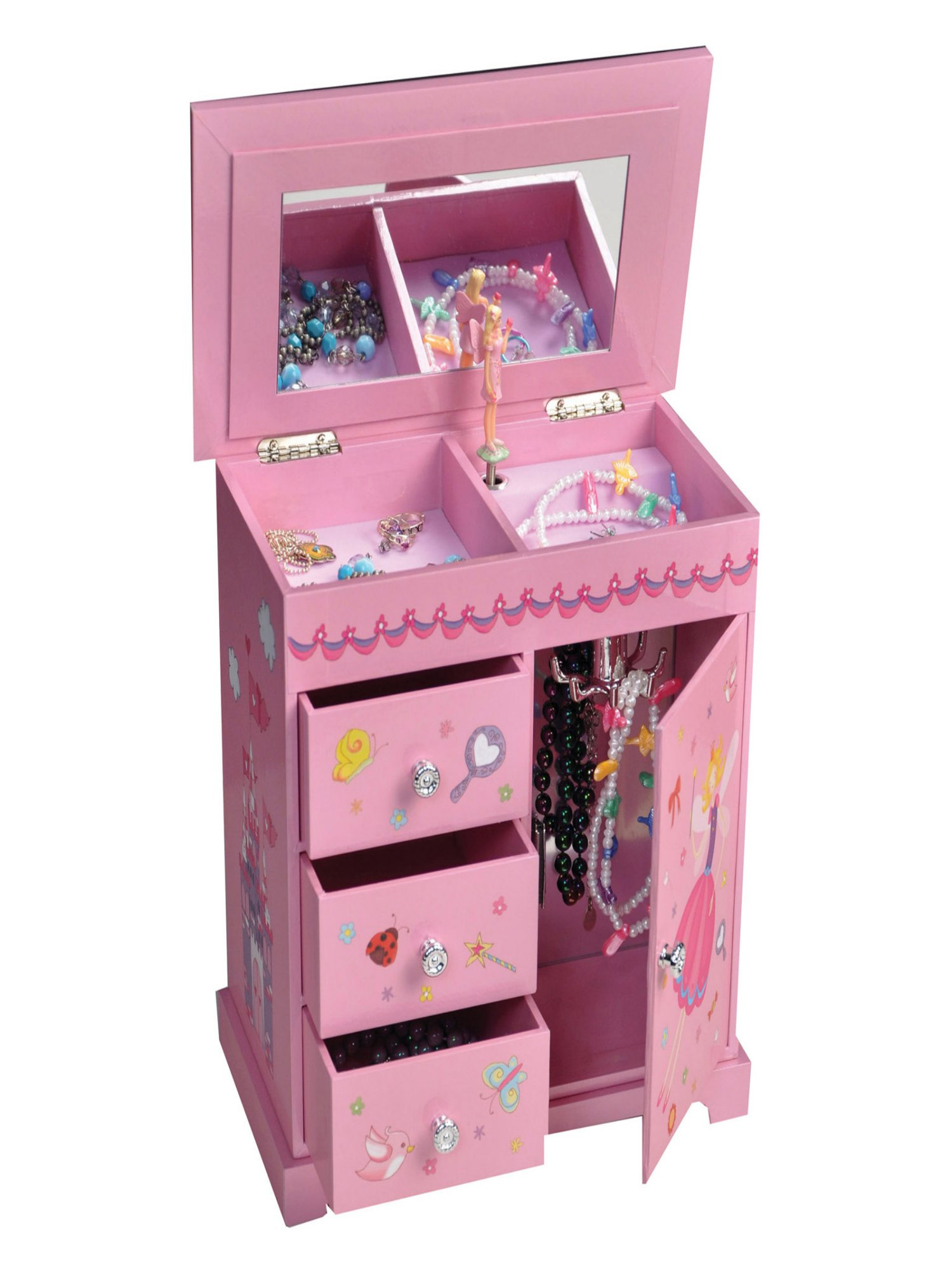 Mele amp Co Krista Musical Dancing Fairy Jewelry Box 95W x 9H