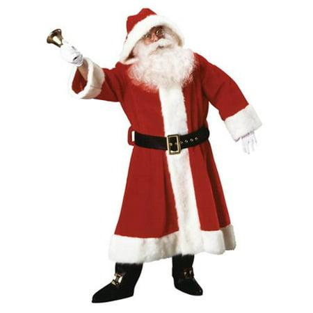 Old Time Mens Adult Christmas Holiday Costume Santa Suit-Std](Christmas Costum)