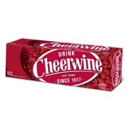 Cheerwine Cherry Fridge Pack Soft Drink, 12 Ounce (12 Cans)
