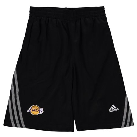 Los Angeles Lakers adidas Youth In the Lane Performance Shorts - Black