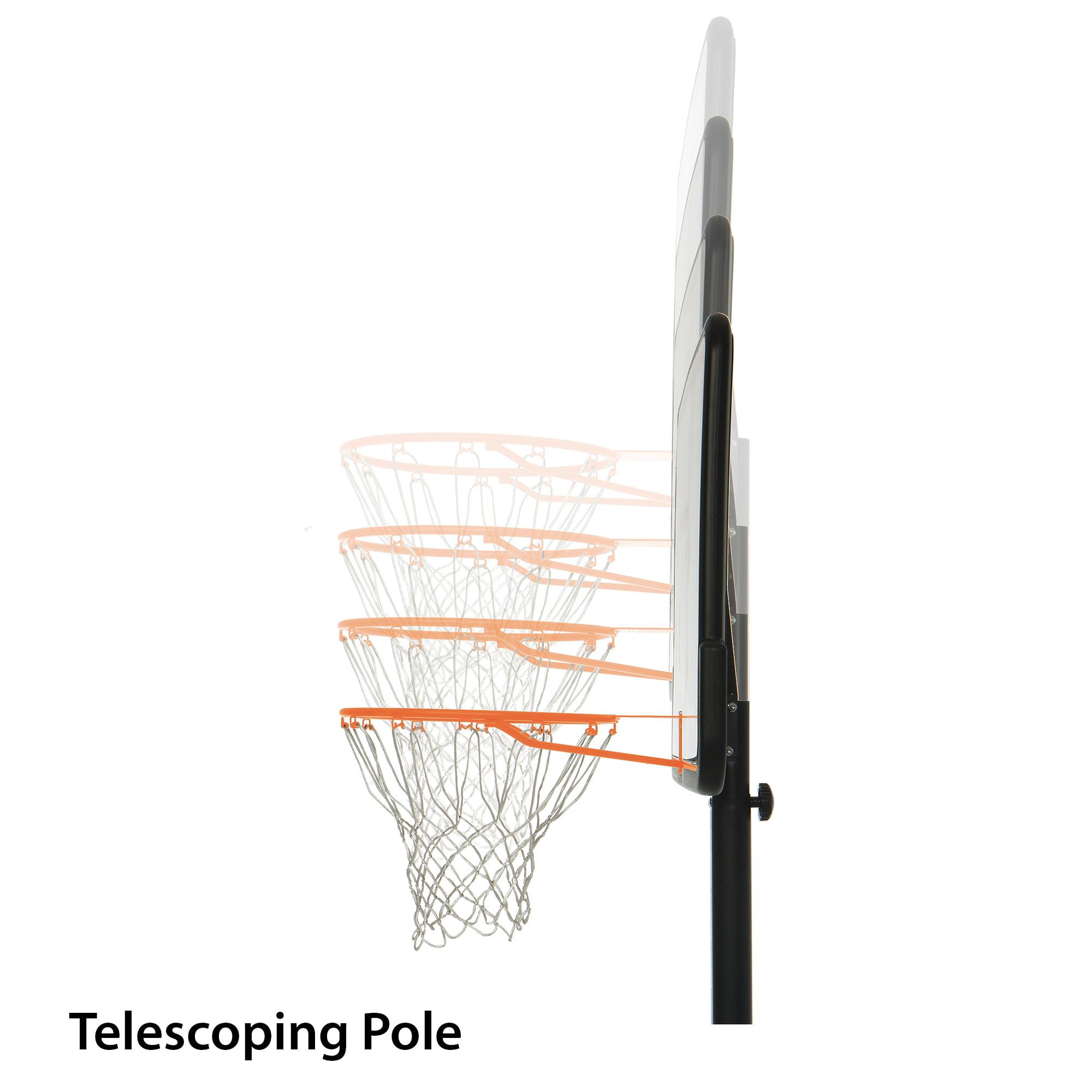 Lifetime 44 Impact Adjustable Portable Basketball Hoop 1221 Walmart Com Walmart Com