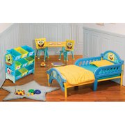 Nickelodeon Spongebob Squarepants Multi Bin Toy Organizer
