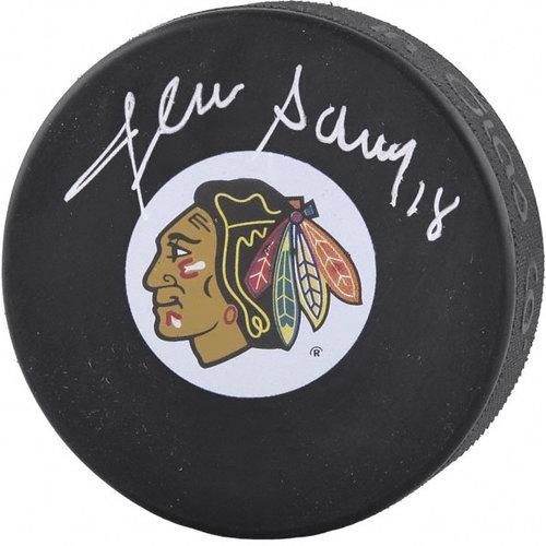 NHL - Denis Savard Autographed Puck