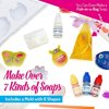 Kid Labsters Soap Making Kit - Complete Make Your Own Soap Set for Beginners - DIY Scented Bath Soaps - Simple Arts and Crafts Idea and Birthday Party Activity for Kids
