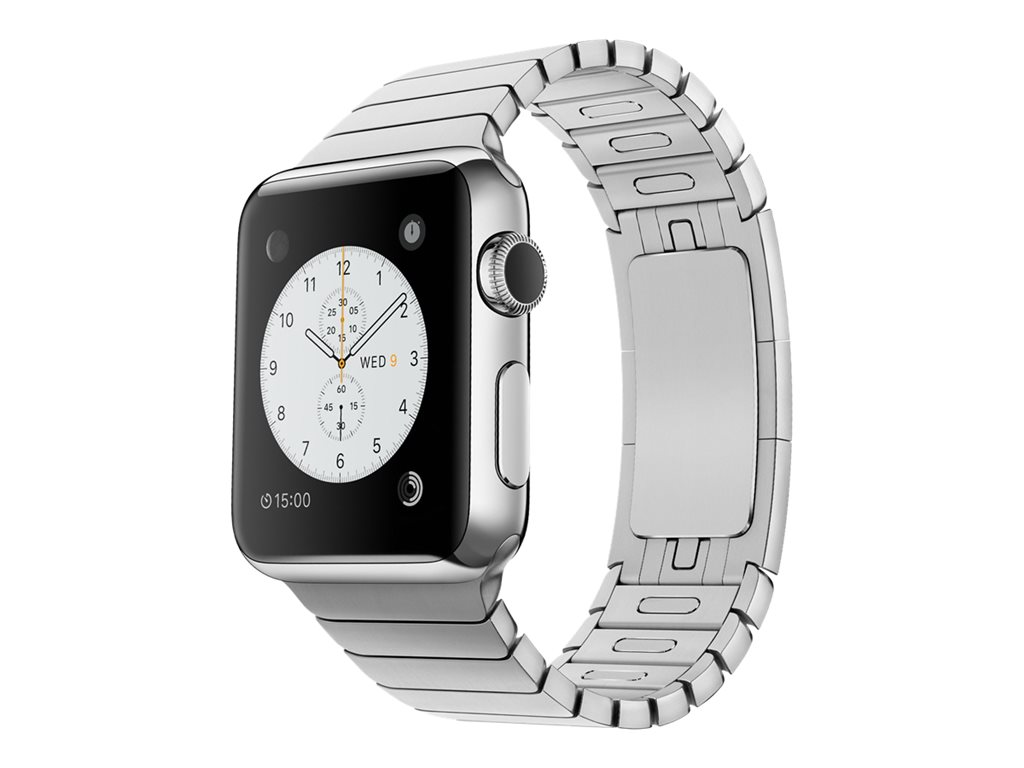 Apple Watch Original 38 mm stainless steel smart watch with link bracelet stainless steel 135-195 mm Wi-Fi, Bluetooth... by Apple