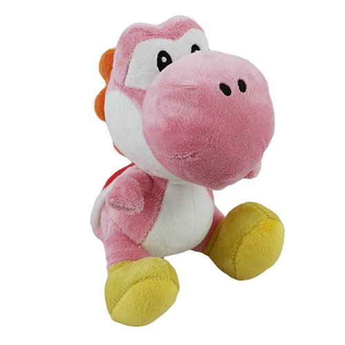 "Little Buddy LLC, Pink Yoshi 6"" Plush"