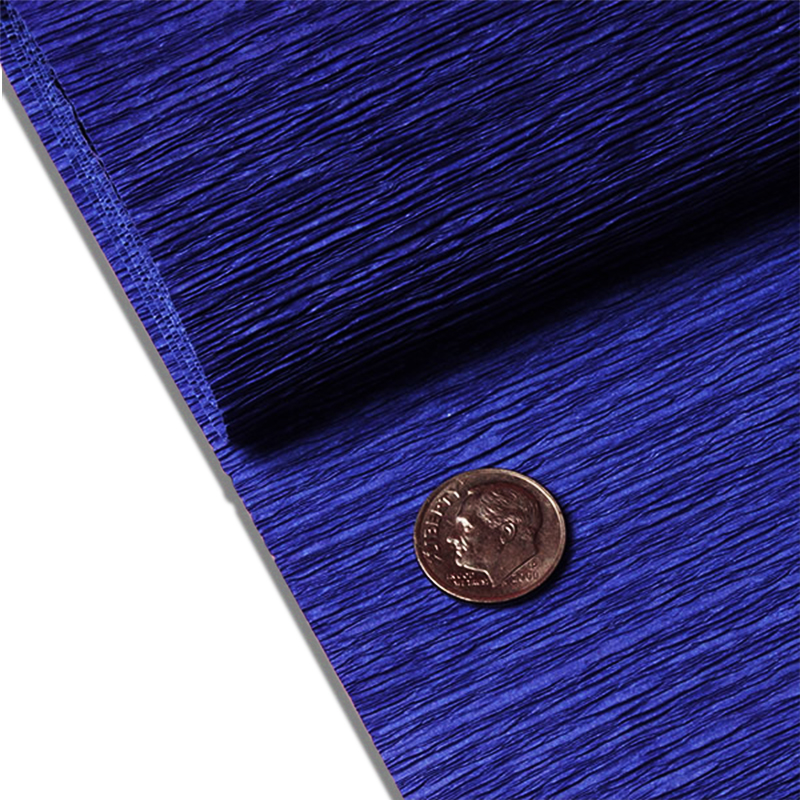 "Royal Blue Crepe Paper 19"" X 3yd by Paper Mart"