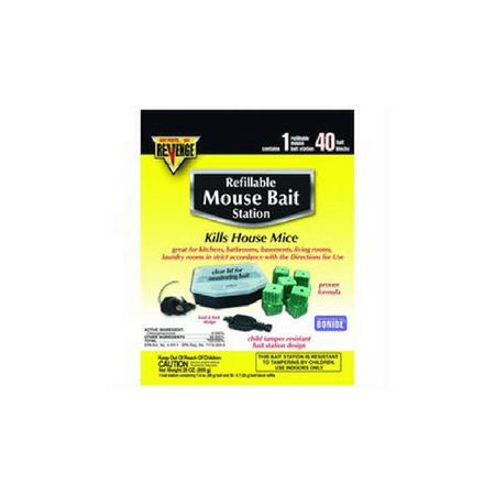 Bonide Products Mouse - BONIDE PRODUCTS 48113 48113 BAIT STATION REFILL MOUSE 22PK
