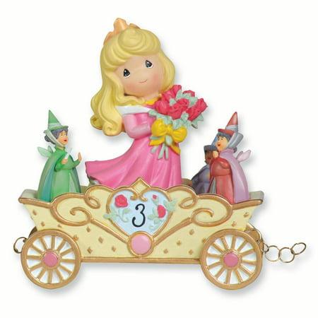Precious Moments Disney Birthday Parade Sleeping Beauty Age 3 (3 5x2 2inch)
