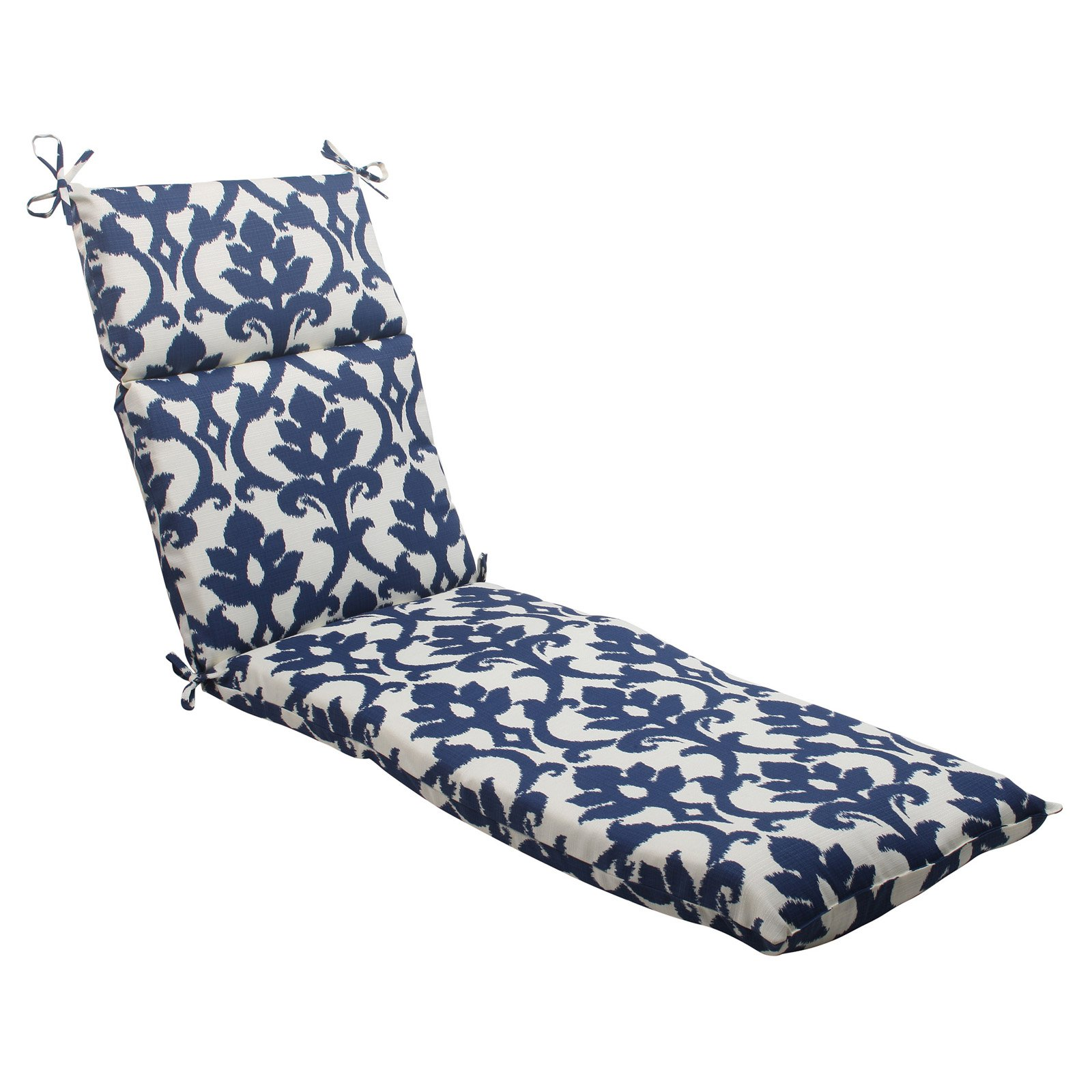 Pillow Perfect Outdoor/ Indoor Bosco Navy Chaise Lounge Cushion